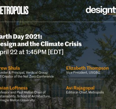 VG CEO Drew Shula Featured on Metropolis Magazine Earth Day Panel