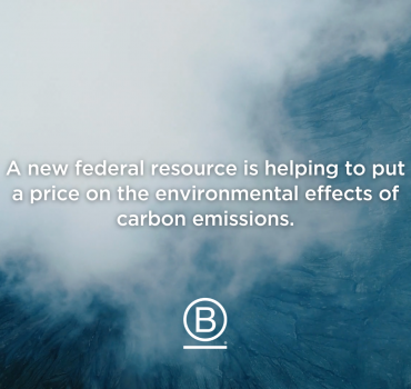 """VG Project Manager's """"The Social Cost of Carbon"""" Article Featured on B the Change Medium Channel"""