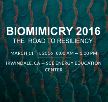 Join Us at Biomimicry 2016